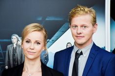 Sofia Helin and Thure Lindhardt