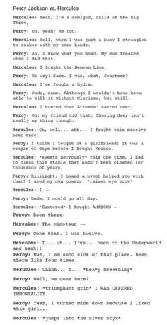 Percy won AND did the last part XD