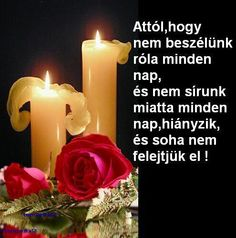 Attol hogy.... Grief, Pillar Candles, Blog, Creative, Taper Candles