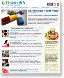 cff91098ca4 Natural Wellness Newsletter Fibromyalgia