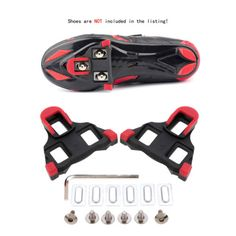 Road bike cycling #self-locking pedal #cleats set for shimano #sm-sh11 spd-sl, View more on the LINK: http://www.zeppy.io/product/gb/2/222030917714/