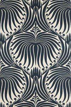 Lotus Wallpaper - contemporary - wallpaper - Farrow & Ball