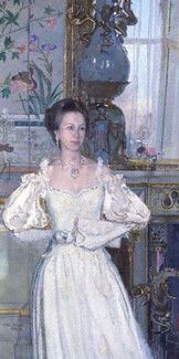 Princess Anne by John Stanton Ward  oil on canvas, 1987-1988