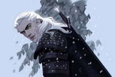 Netflix drove millions of fans crazy by introducing The Witcher at the end of 2019 — and goes the Witcher fan art, so you can toss a coin! The Witcher Geralt, Witcher Art, Ciri, Character Concept, Character Art, Concept Art, Character Design, The Witcher Series, Witcher Wallpaper
