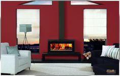 slow combustion wood burning stove | Wood Heaters/ Fireplaces on Pinterest | Fireplaces, Stainless Steel ...