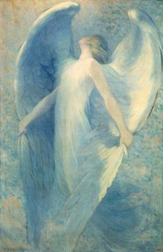 ca 1912 William Baxter Closson (American. 1848-1926) ~ The Angel