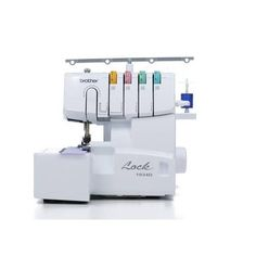 Lend beautiful finished edges to your sewing projects with this serger sewing machine. Visit JOANN for Brother thread sergers and other sewing machines.