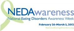 National Eating Disorder Awareness Week. Help support awareness! We all know someone...