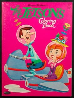 Hanna Barberas The Jetsons Coloring Book 1963 Unused File Copy