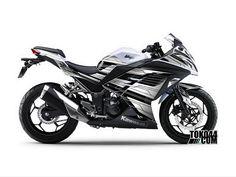 Decal Sticker Ninja 250 FI Putih – Stiker Modifikasi Kawasaki Ninja 250 FI (Fuel Injection)Reviewed by Admin on Jun 8.Rating: