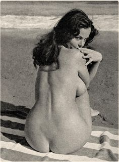 Vintage young nudist
