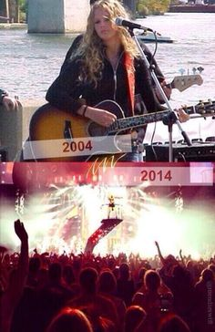 The difference 10 years can make #taylor #taylorswift #swift #10 #difference #beauty