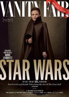 Carrie Fisher's Star Wars 'Last Jedi' Vanity Fair cover is perfect!