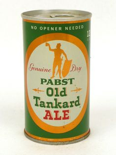 10-12oz Tab Tops Pabst Old Tankard Ale Pabst Brewing Company (Post-Prohibition) Milwaukee Wisconsin United States of America