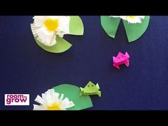 In this video tutorial, we are making Origami Jumping Frogs.