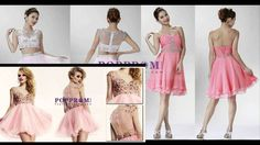 #Short #Pink #Homecoming #Dresses - http://www.poppromhouse.com/homecoming-dresses/short-mini/pink