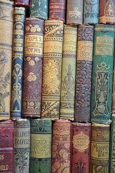 Beautiful bindings.
