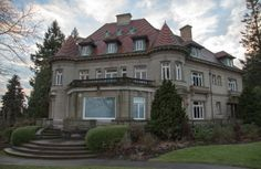 Stop for a tour of the historic Pittock Mansion in North Portland. #Portland #PDX #PittockMansion #Oregon