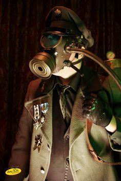 Crazed Hierophant Salazar Strega by ~garystrange on deviantART #steampunk #dirigibledays
