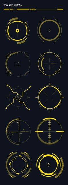 Buy Hi-Tech Custom Shapes by anchor_point_heshan on GraphicRiver. 10 Hi-Tech HUD shapes This file contains 10 Hi-Tech custom shapes, you can use these shapes in Designing sci-fi UI ki. Web Design, Game Design, Logo Design, Graphic Design, Design Tech, Drawing Tips, Drawing Reference, Photoshop Shapes, Adobe Photoshop