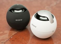 The Sony SRS-BTV5 wireless Bluetooth speaker boasts speakerphone and NFC capabilities