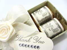 Stampin' Up!  Matchbox  Norma Pimental  Wedding Favor