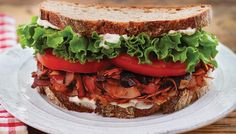 The Famous Coconut BLT Seriously? Coconut bacon!? Must try this!
