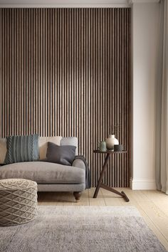 Wood Cladding Interior, Wall Cladding, Interior Walls, Home Interior Design, Wood Slat Wall, Wood Panel Walls, Wood Paneling, Wall Panelling, Timber Wall Panels