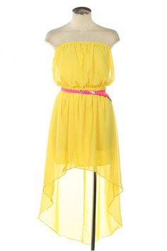Yellow Dresses For Juniors | neca.tk