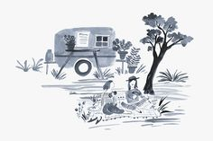 An Illustrated Guide to Upstate Picnics by Emily Isabella. andnorth.com