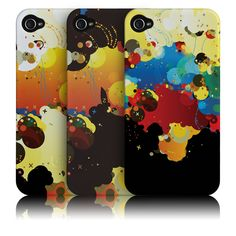 If I had an I phone I would want this...Joshua Davis iPhone 4 cases
