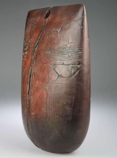 Peter Hayes Burnished clay ceramic