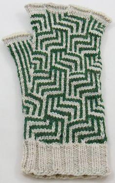 Phalangees fingered gloves : Knitty Deep Fall 2012