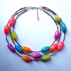 Polymer clay beads by Jana Lehmann aka feeliz. Gorgeous, gorgeous beads in lucious and sparkly colors.