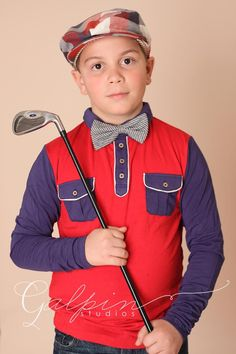 Britchin' Post Boy's Collection's - Fore Axel & Hudson is Golf inspired Couture for Boys.