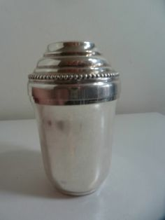 Christofle Perles Individual Cocktail Shaker With Lemon Squeezer | eBay
