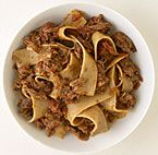 Pappardelle with Venetian Duck Ragu.   Because shut up.  That's why.