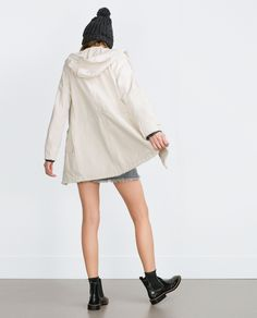 PARKA WITH HOOD - View all - Outerwear - WOMAN - SALE | ZARA United Kingdom