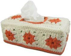 Para guardar la caja de pañuelos,desechables.