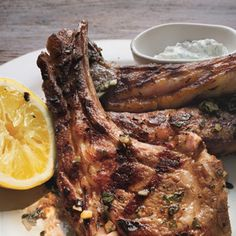 Lamb Chops with Lemon