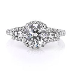 2.37ct Round Brilliant Cut Diamond Engagement Anniversary Ring