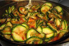 шеф-повар Одноклассники: Кабачки маринованные мгновенного поедания