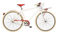 Aurelia 1028SU Single Speed 28 Inch Heren V-Brake Wit