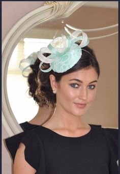 Cream Fascinator, Fascinator Hats, Fascinators, Headpiece, My Etsy Shop, Mint, Trending Outfits, Unique Jewelry, Handmade Gifts
