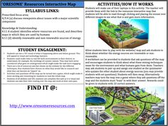Oresome Resources Interactive Map! Use the online map to allow students to discover different mining techniques and what is mined and what it is used for. Find it at: http://www.oresomeresources.com