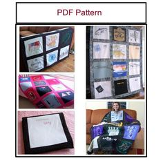 Pattern for Tshirt Quilt