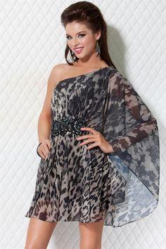 Jovani print sheer #Dress