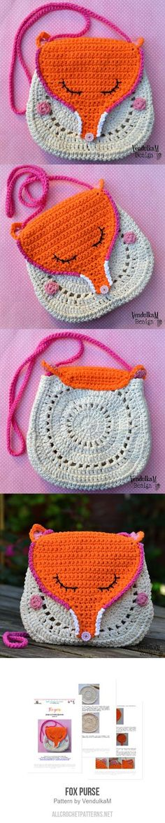 Fox Purse crochet pattern