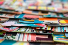 Mixed media art on index cards by Tammy Garcia Yellow Daisies, Happiness Project, Index Cards, Art Challenge, New Things To Learn, Mixed Media, Projects To Try, Challenges