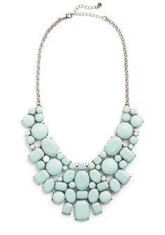 super pretty statement necklace from ModCloth.com - out of stock, but hopefully they'll get more!